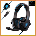 Brand Sades SA 901 Gaming Headset 7 1 Surround Sound Headphones with Mic Remote Control USB