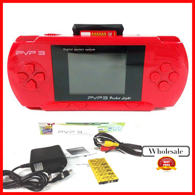 New PVP3 / PVP 2 pocket Game Console 16-bit video games player with many games/ handheld + Free Game card 20pcs/lot!!(China (Mainland))
