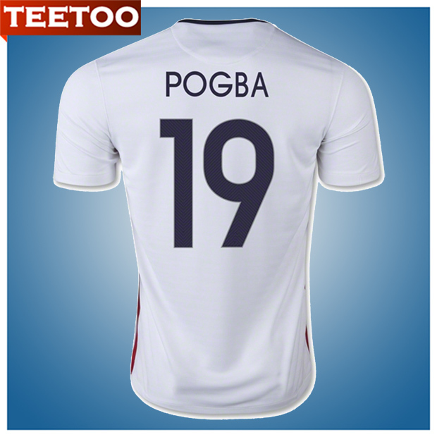 Pogba 15/16 France Jersey 2015 2016 France Football Shirt Griezmann Zidane(China (Mainland))