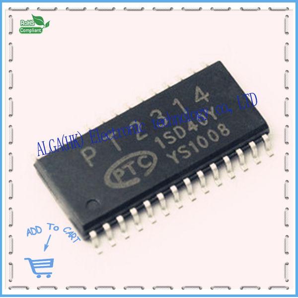 1 Free shipping PT2314 PT2314E SOP-28 audio adjustment the first consultation took Processor 100% Original Product(China (Mainland))