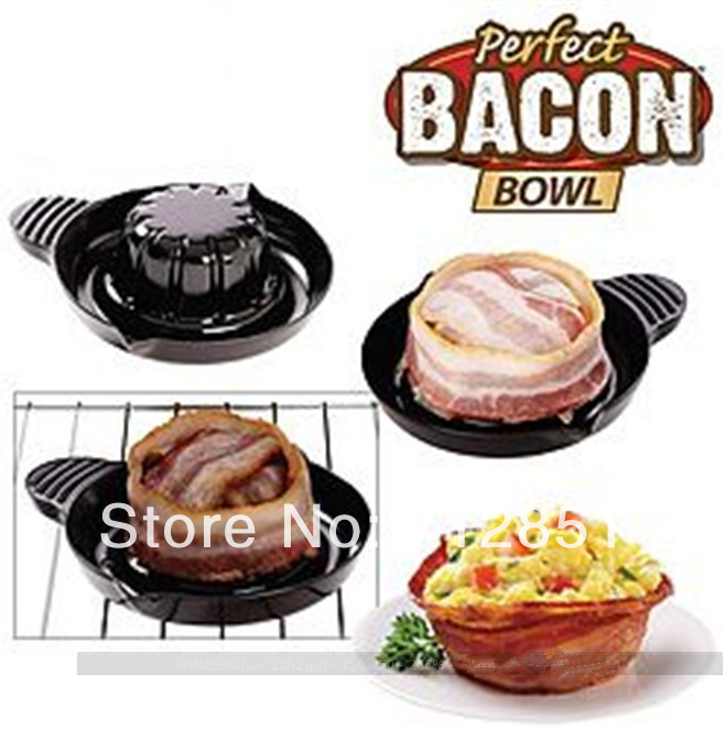 Perfect Bacon Bread Bowls As Seen On TV use in Oven Toaster ...