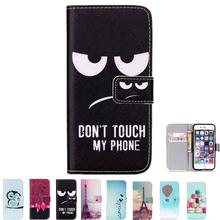 Hot Luxury Flip Wallet PU Leather Case For iphone 6 6s With Card Holder Cover 2015 New GA009(China (Mainland))