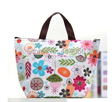hot2014 new fashion print thickening thermal bags lunch bag large women mother bag thermostat with warming bag cooler bags