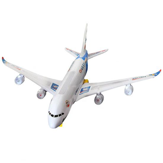 A380 Model Aeroplane With Flashing Light Music Electric Toy Funny High quality Airbus Aircraft Airlines Plane(China (Mainland))