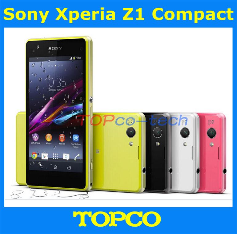 """Original desbloqueado Sony Xperia Z1 Compact GSM 3 G e 4 G Android Quad Core 2 GB RAM D5503 4.3 """" 20.7MP WIFI GPS 16 GB ROM dropshipping(China (Mainland))"""