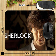 Free Shipping Benedict Cumberbatch Anti-Slip Laptop PC Mice Pad Mat for Optical Laser Mouse Drop Shipping