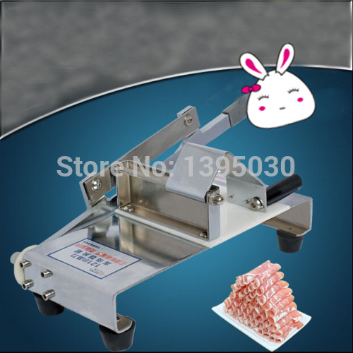 By DHL 1pcs meat cutting machine household manual mutton roll slicing machine meat planing machine stall-fed meat slicer<br><br>Aliexpress