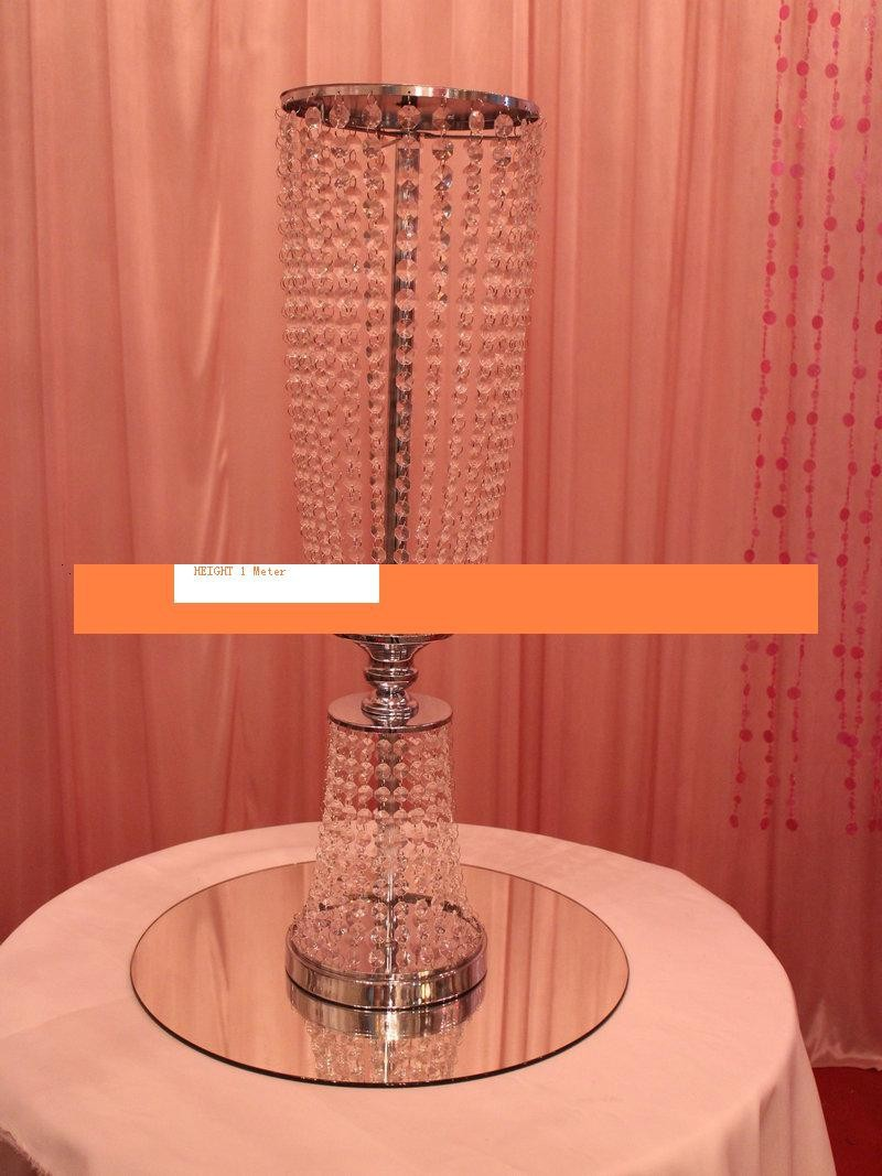 100cm tall acrylic crystal wedding road lead wedding centerpiece event party decoration event party decoration for