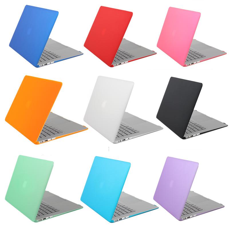 SIBAINA Crystal Matte Transparent Case For Apple Macbook Air Pro Retina 11 12 13 15 Laptop bag for Macbook Air 13 Cover Shell