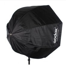 Godox Portable Octagon Softbox 80cm/31.5in Umbrella Brolly Reflector Flash light Softbox for Studio Photo Flash Speedlight