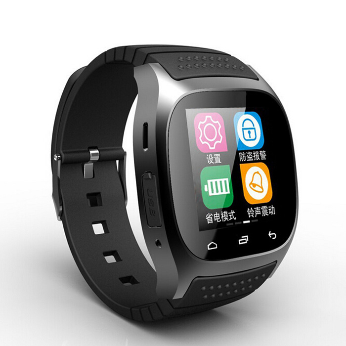 Smart Bluetooth Watch M26 LED display / Dial SMS Reminding Music Player Pedometer Mobile Phone - China Super Market store