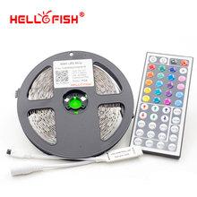 5M 5050RGB LED strip 300LED Non waterproof and 44 key controller LED strip kit(China (Mainland))