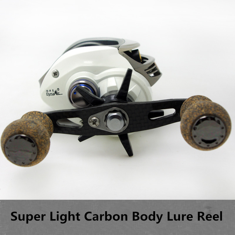 Dynamic Super Finesse Lure Reel 13+1 Bearing Light Carbon Body Centrifuge Brake Adjustable Fishing Reels<br><br>Aliexpress