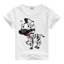 Summer New Cartoon Children T Shirts Boys Kids T-Shirt Designs Teen Clothing For Boys Baby Clothing Girls T-Shirts XFM0011