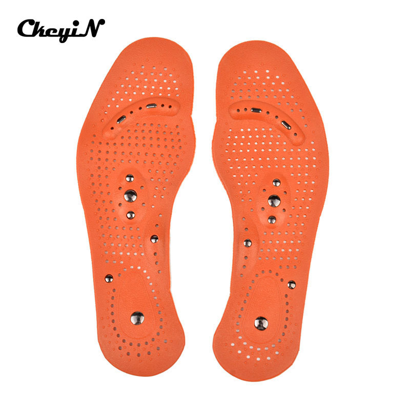 1 Pair Magnetic Therapy Health Foot Massage Insoles Pads Men Women Foot Care Tool Massaging Pain Relief Insole For Shoes AM026A(China (Mainland))