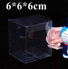Retail Clear Plastic Package Boxes Cosmetic Bottle Electronic Gift Packaging PVC Boxes Free Shipping