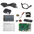 Raspberry Pi 3 B Model B Board 3 5 Touch Screen Case 16GB TF Card Cooling