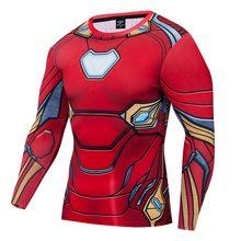 Aquaman футболка с 3d принтом Человек-паук Капитан Супермен shazam брендовая Футболка мужская забавная фитнес компрессионная рубашка Мода 2019 стил...(China)