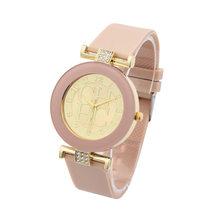 חם חדש אופנה מותג ז 'נבה מקרית קוורץ שעון נשים קריסטל סיליקון שעונים שמלת שעון יד kobiet zegarka מתנה Hodinky(China)
