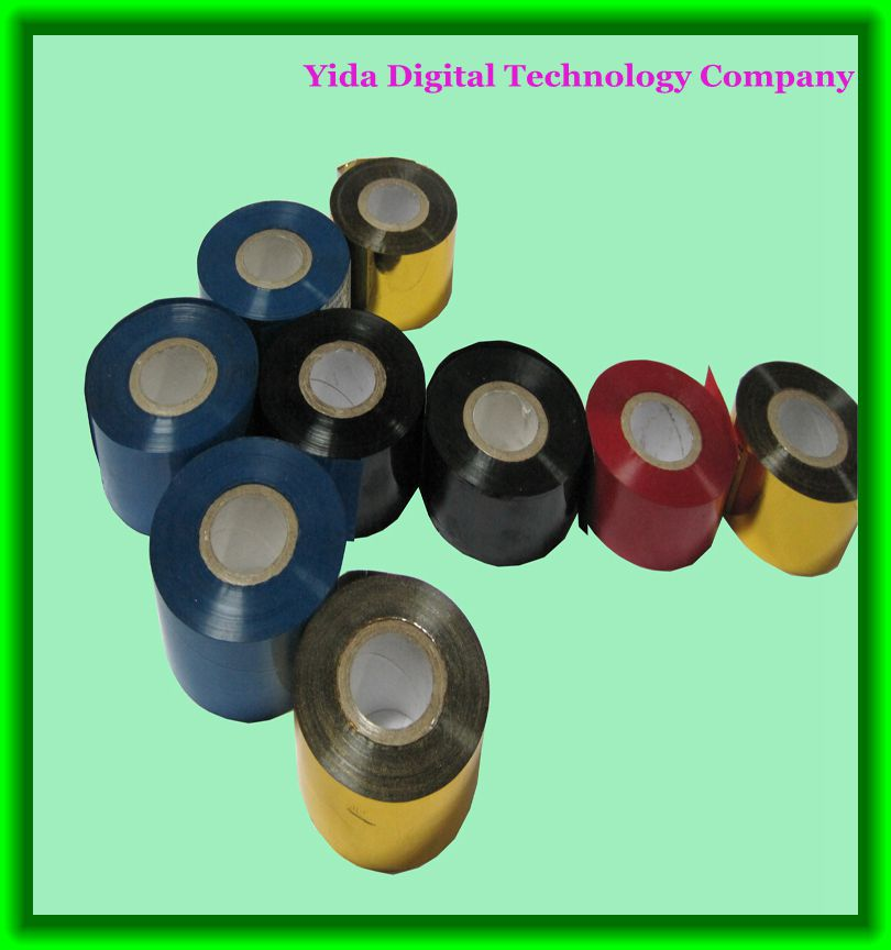 (100 rolls/carton) Yida coding machine used hot stamping foil tape FC3 40mm*122m hot coding foil(China (Mainland))