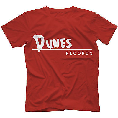 Dunes Records T-Shirt 100% Cotton Curtis Lee Ray Peterson Phil Spector Free Shipping(China (Mainland))