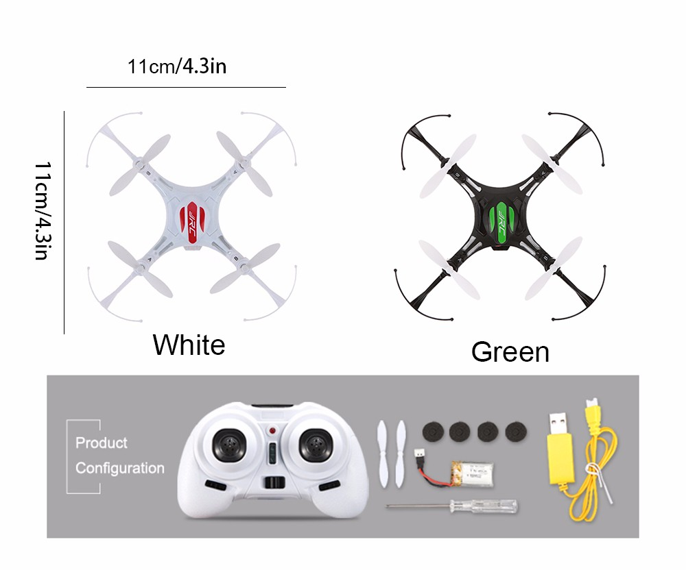 JJRC H8 Mini Drone Headless Mode 2.4G 4CH 6 Axis RTF RC Quadcopter 360 Degree Rollover Function RC Dron Helicopter Toys