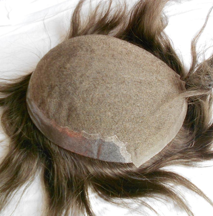 8x10 Swiss Lace Toupee Hair men's Toupee Hair Piece Hair Systemread description(China (Mainland))