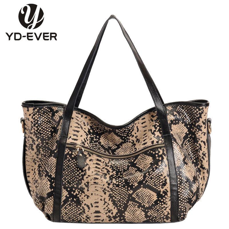 European style snakeskin patent genuine leather bags designer handbags big tote shoulder bags women messenger bags shopping bag(China (Mainland))