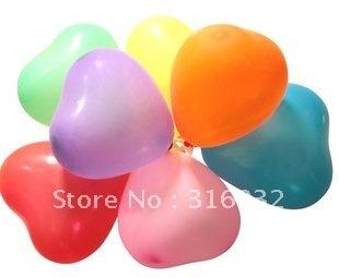 M3 Heart-shaped Pearl Latex Balloon,12 Inch Wedding Party Balloon,Free Shipping