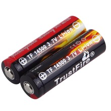 2Pcs AA 3.7V 14500 900mAh Rechargeable Li-ion LED Battery Safe Environmental Friendly For Flashlight In stock!