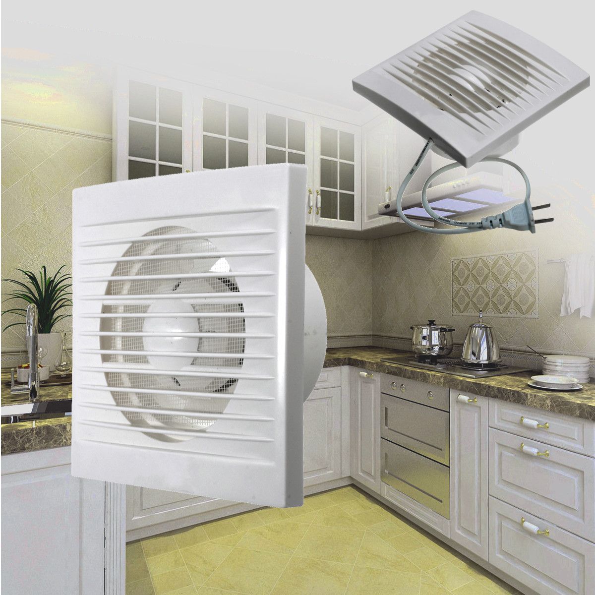 Bathroom extractor fan promotion shop for promotional for Kitchen exhaust fan in nepal