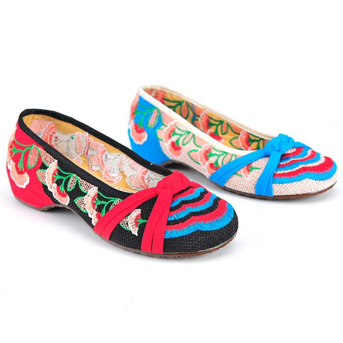 New For Women Cheap Spring Flat Embroidered Espadrilles Shoes For Sale Good Seller White Black Designer Shoes China(China (Mainland))