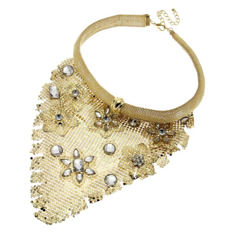 2015 Indian Chic Style Jewelry Women Neck Bib Collar