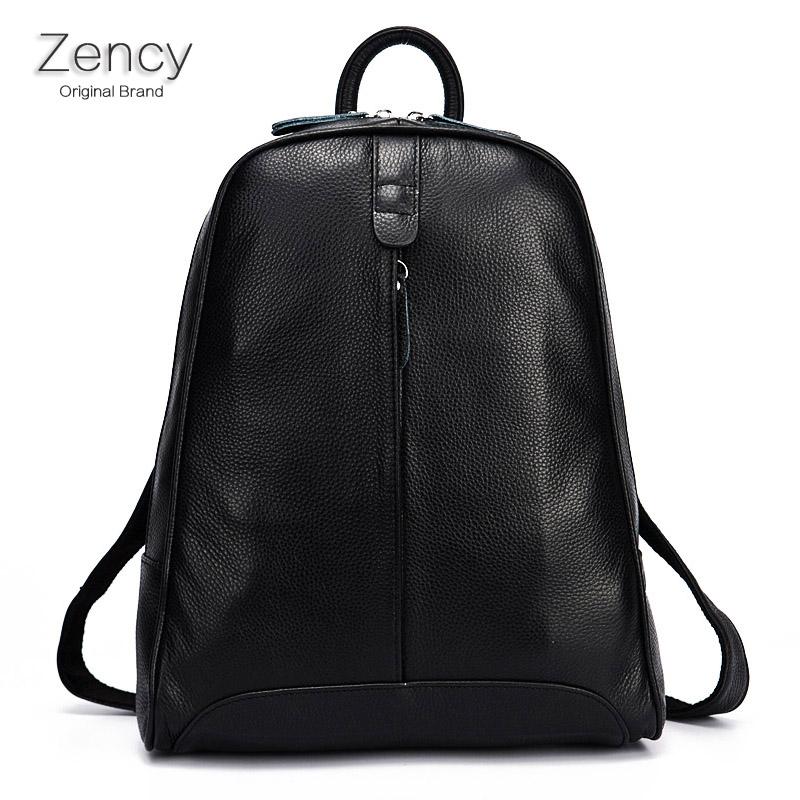 2016 New Hot Real Leather Women Backpack Genuine Cow Leather Ladies Backpacks Top Layer Cowhide Girl Backpacks School Bag(Hong Kong)