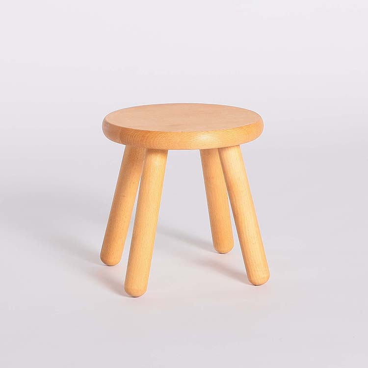 Simple Creative Solid Wooden Stool Low Chair Children 39 S