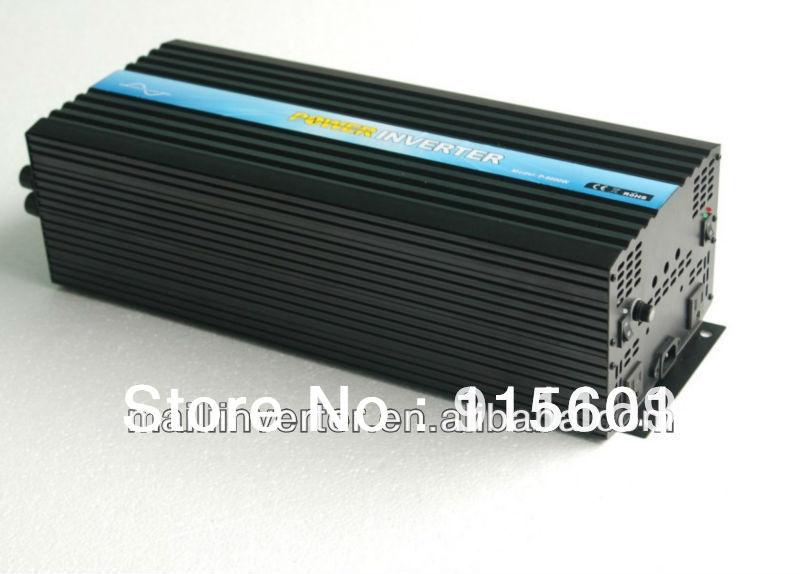 6000W Solar Panel Invertor, Off Grid Invertor DC 24V 48V Inverter Generator(China (Mainland))