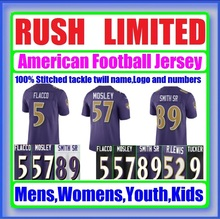 Color Rush Limited Jersey Eric Flacco Joe Justin Lewis Ray Ronnie Smith Steve Stanley Tucker Weddle C.J. Custom Mosley Jerseys(China (Mainland))