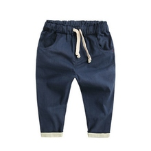 2016 Hot Sale Baby boy\'s Casual Loose Trousers Summer Bottoms Harem Long Pants Fashion Toddlers(China (Mainland))