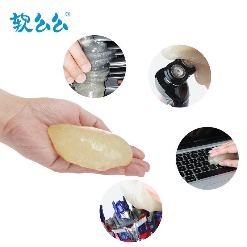2 шт. 2015 новое творческий клавиатура для очистки моди автомобилей чистым использование гель для автомобилей / / пыли убийца