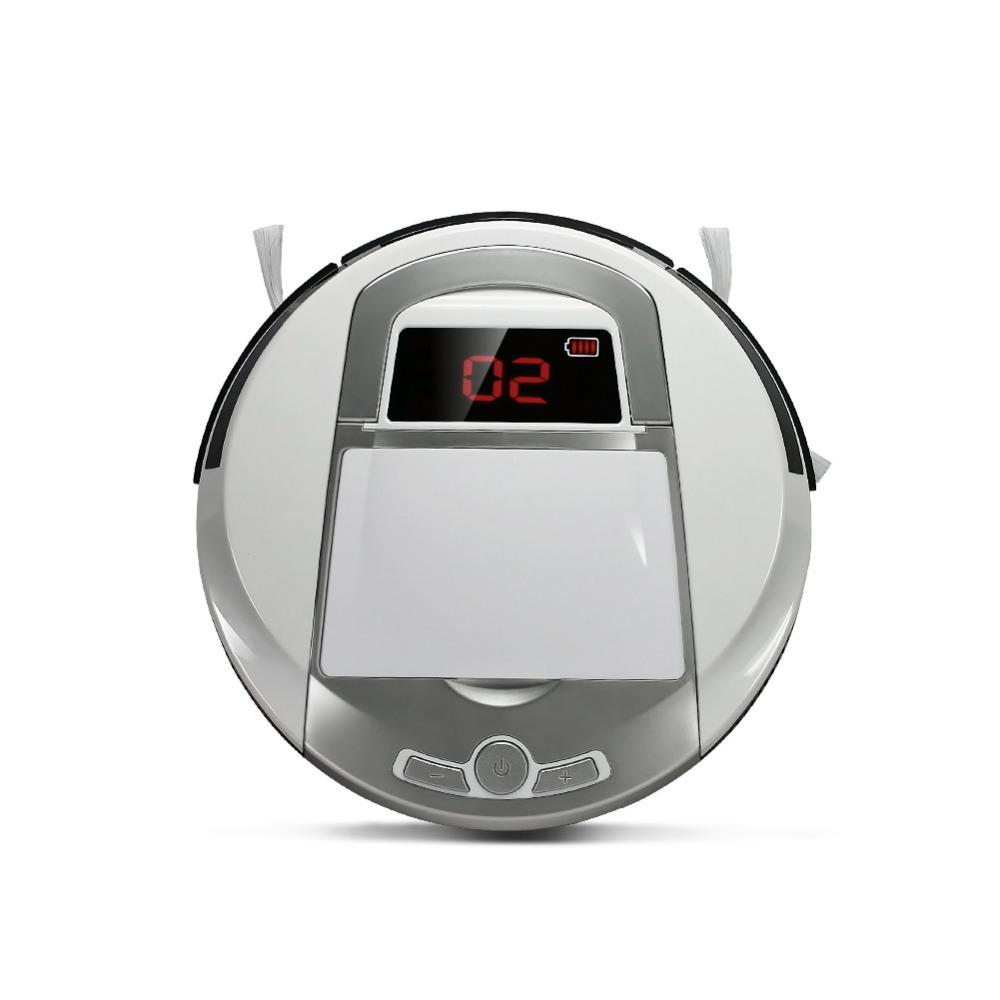 2016 New Intelligent Robot Vacuum Cleaner, High Power Robot Vacuum Cleaner / Floor Cleaning Robot(China (Mainland))