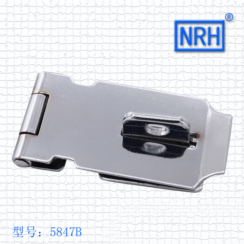 NRH hardware 5847B Luce zipper brand iron luggage accessories hardware lock box buckle buckle<br><br>Aliexpress