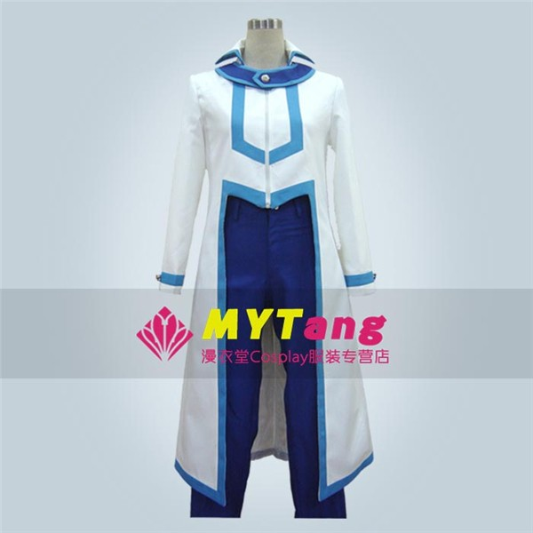 Duel Monsters GX Yu-Gi-Oh! Duel Monsters Atticus Party Fashion Uniform Cosplay White Blue Costume Any SizeОдежда и ак�е��уары<br><br><br>Aliexpress