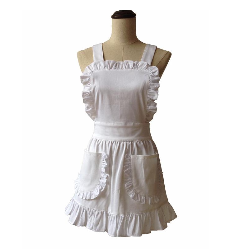 Online Get Cheap White Ruffle Apron -Aliexpress.com