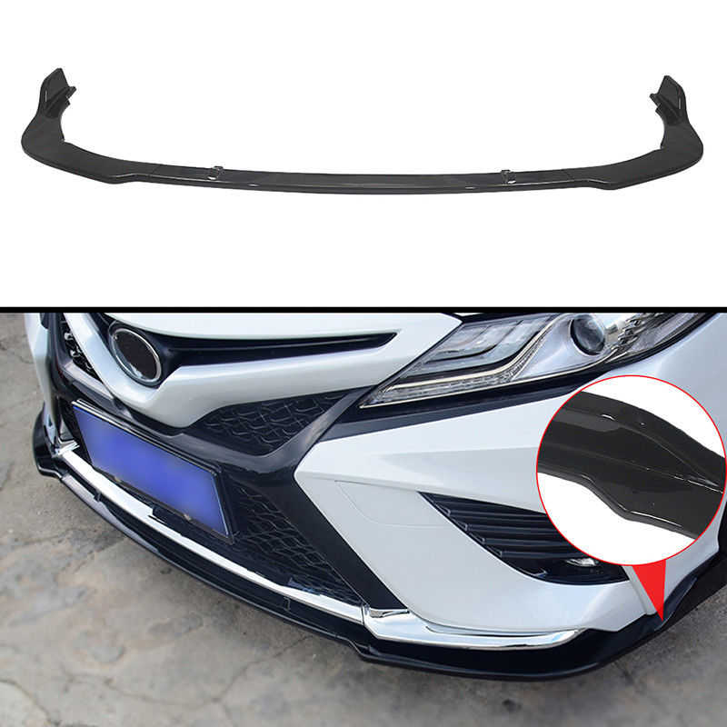 Stainless steel Front Head Fog Light Lamp Cover Moldin For 2018 toyota Camry XSE