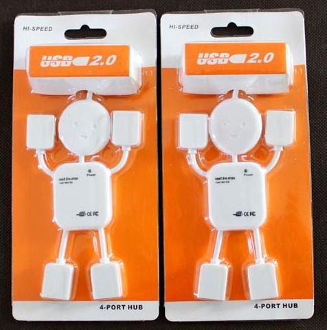 10PCS Free shipping Human computer USB HUB USB extension interface USB line HUB yituo four(China (Mainland))