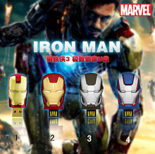 Free Shipping New Avengers 4 Sstle Iron Man Model Usb 2.0 Memory Flash Stick Pendrive Genuine Capacitys Bulk Orders Good Gift