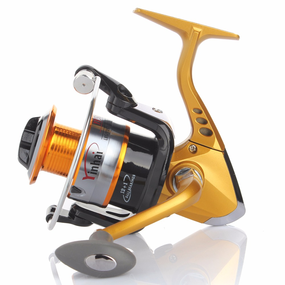 Cheap seaknight super metal spinning fishing reels 13bb for Discount fishing reels