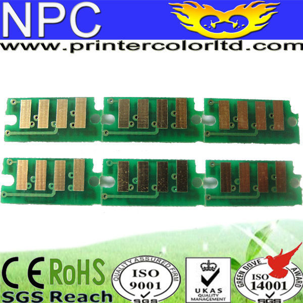 chip POSTAGE inkjet printer chip for Fuji Xerox P6000B chip genuine color reset chip for Fuji-Xerox WC-6015-V/NI -free shipping(China (Mainland))