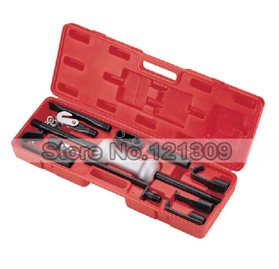 13pc Set Auto Body Dent Repair Bearing Axel Remover Slide Hammer Dent Puller Set 10lb(China (Mainland))