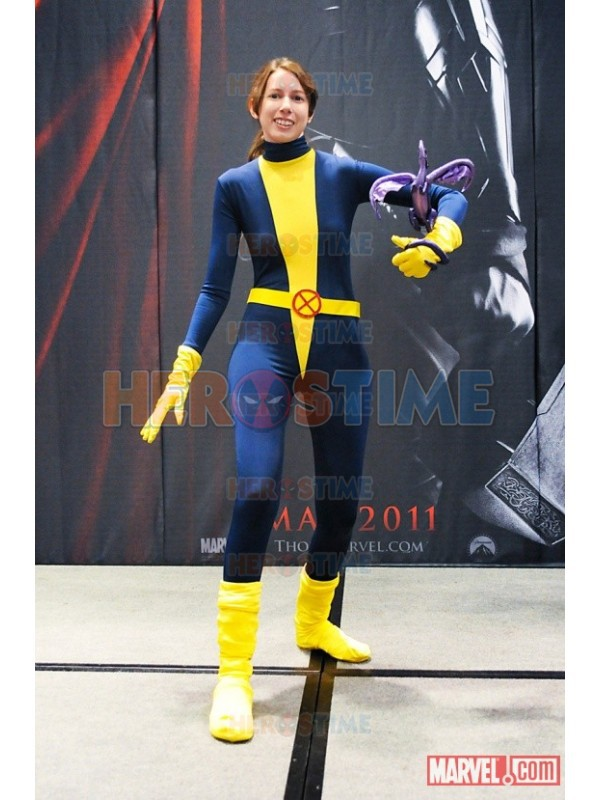 Blue Halloween Costumes For Men 2015 Newest x Men Costume Blue